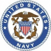 navy eagle logo